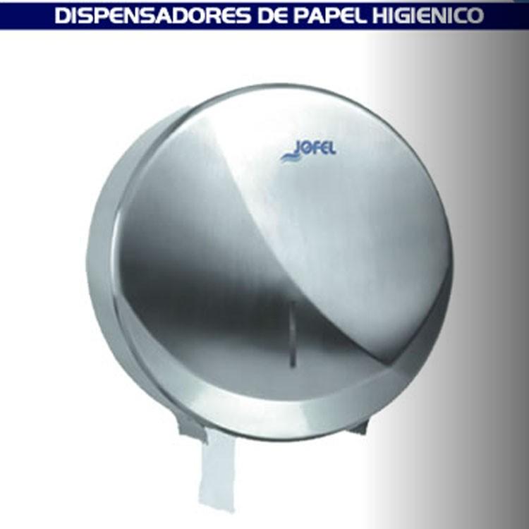 Dispensador de papel higi nico para ba o satinado ae25000 - Dispensador de papel ...