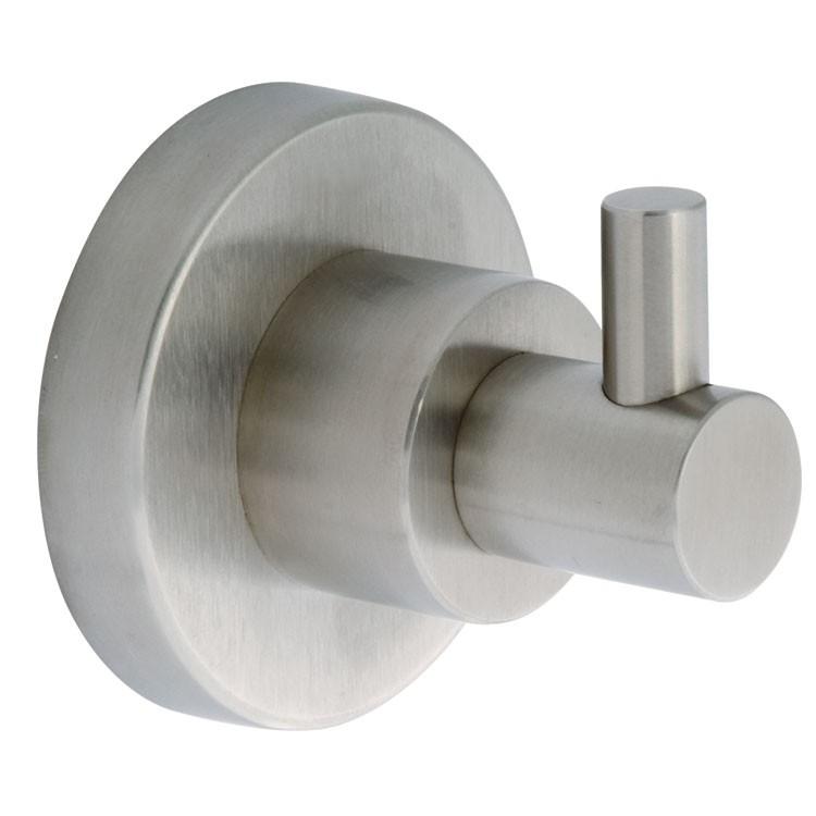 Gancho sencillo para ba o inox 9606 manerales ba os for Gancho adhesivo pared