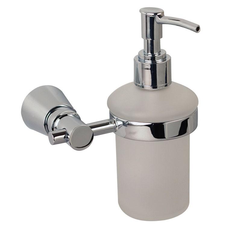 Accesorios De Baño Zafiro:Detalles DEL PRODUCTO Jabonera de cristal con dosificador,