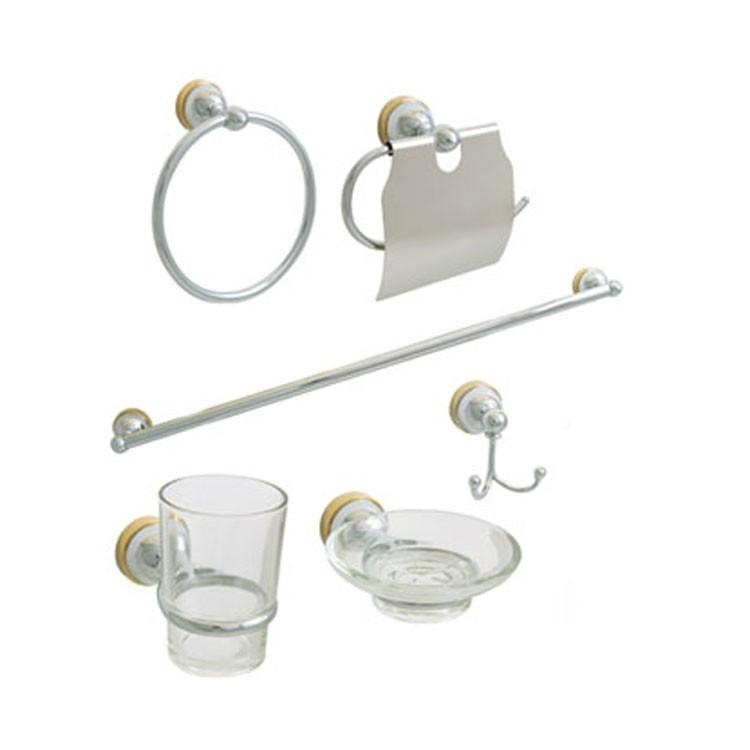 Accesorios de ba o rugo for Kit de accesorios para bano