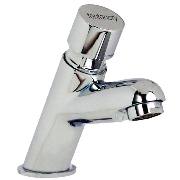 Llave temporizadora para lavabo 20001 llaves de ba o for Llaves mezcladoras para lavabo urrea
