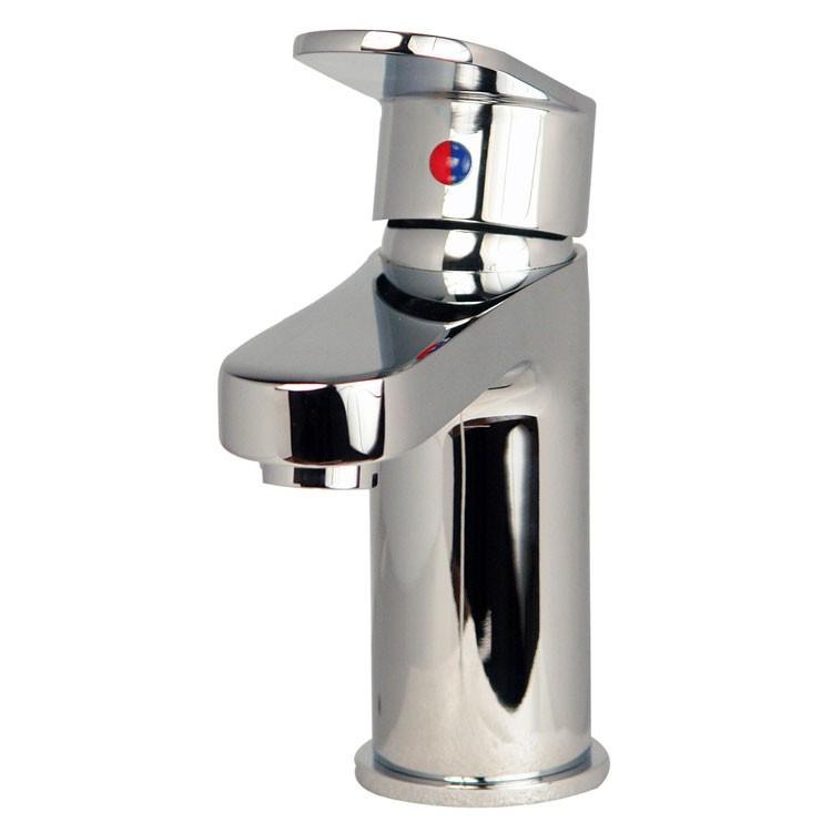 Mezcladora monomando corta para lavabo l nea zafiro z100 for Mezcladora para ducha precio