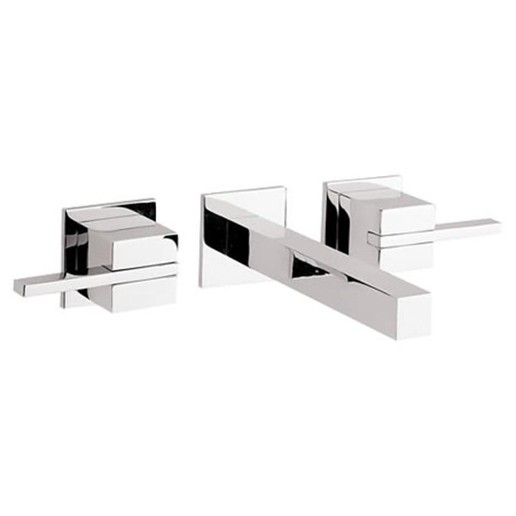 Lavabos Para Baño Helvex:Mezcladora para lavabo de pared, con desagüe tipo hongo sin