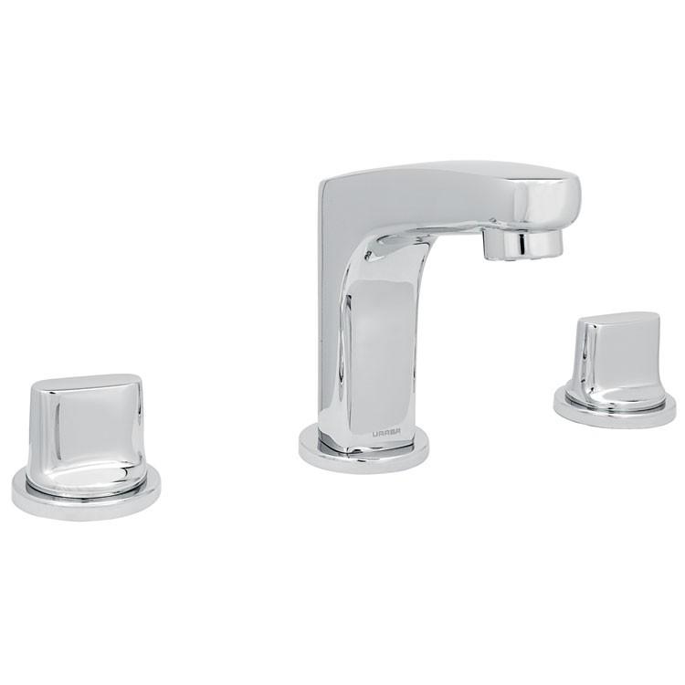Mezcladora para lavamanos con desag e autom tico 9283ar for Llaves mezcladoras para lavabo urrea