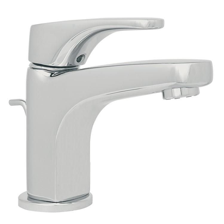 Mezcladora para lavamanos con desag e autom tico 9415ar for Llaves para lavabo helvex