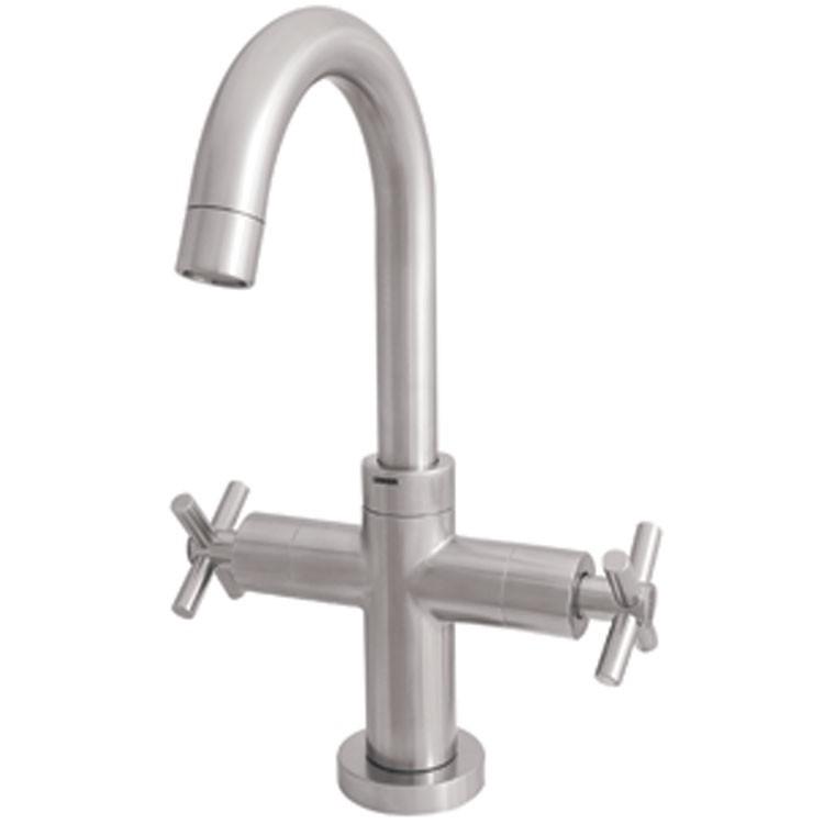 Monoblock para lavamanos 9458inox llaves de ba o ba os for Llaves modernas para lavamanos
