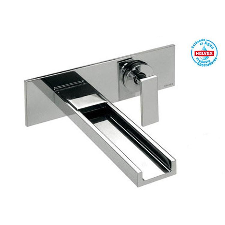 Lavabos Para Baño Helvex: de pared con desagüe – E-3008-Conf – Llaves de Baño – Baños