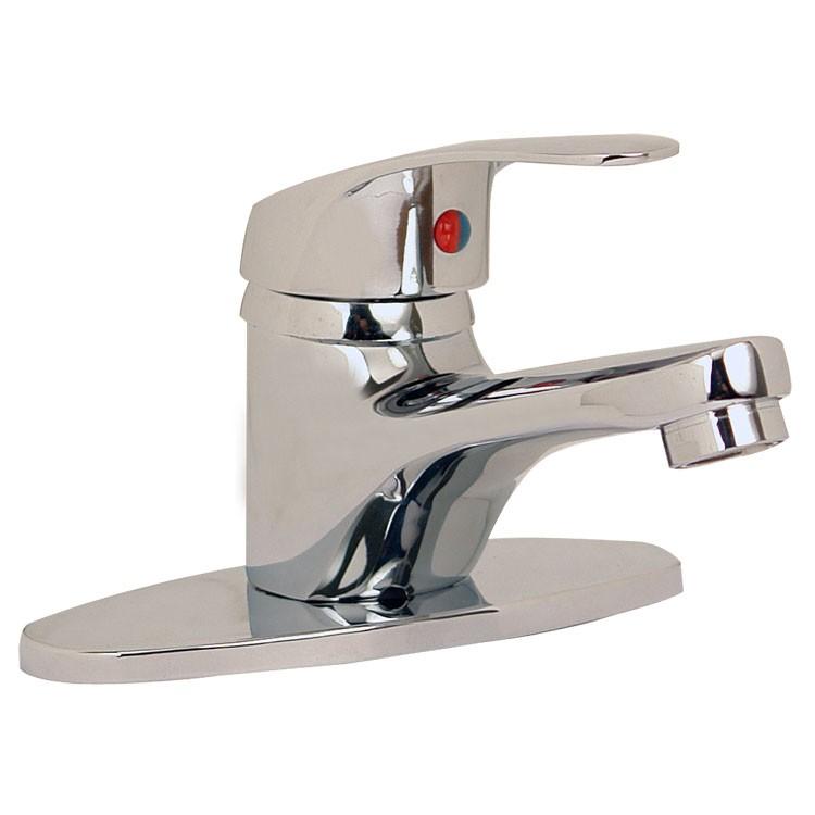Monomando para lavabo sin desag e autom tico 23 mq for Llave mezcladora para lavabo