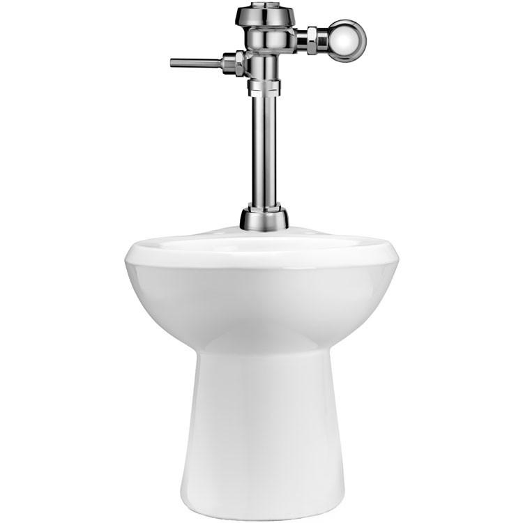 Accesorios De Baño Marca Helvex:Sanitario de piso, incluye fluxómetro de funcionamiento manual – WETS