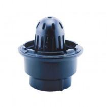 """Coladera para azotea, rejilla de cúpula para conexión de 4"""" roscable"""