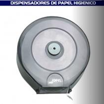 Dispensador de papel higiénico transparente, capacidad de 1 rollo de 300 mts. Medidas en milimetros: Alto 28 cm; Largo 27 cm; Ancho 125 cm.* NOTA SE VENDE ÚNICAMENTE EN CAJAS DE 2 PIEZAS, EL PRECIO PUBLICADO INCLUYE LAS 2 PIEZAS*