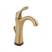Mezcladora Monomando para lavabo en baño con tecnología Touch2O.xt, incluye desagüe, operada por baterías, línea Adisson