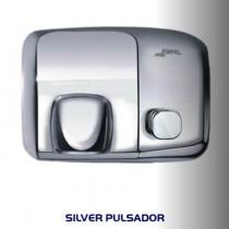 Secador de manos de acero y aluminio cubierta inoxidable